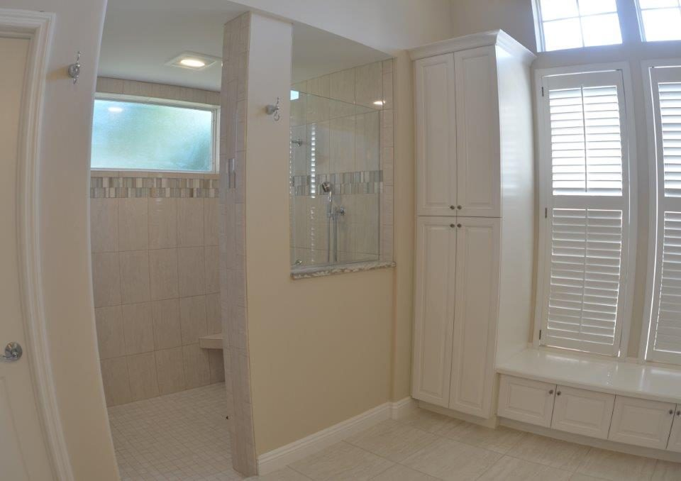 Venice Master Bath Before and After Project Remodeled