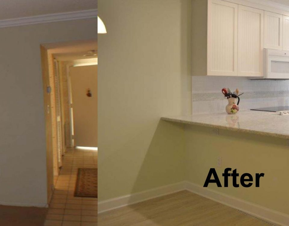 Venice FL Kitchen Remodel Project Before and After PIcture